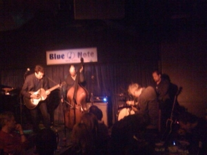 Special guests at the Blue Note: Marc Ribot
