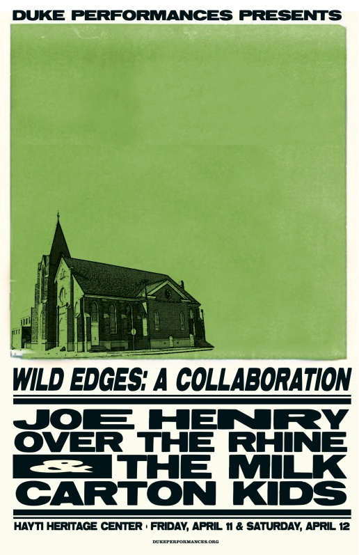 Poster for the Wild Edges performance in Durham, NC